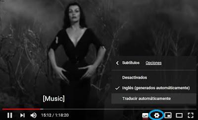 Traducir subtítulos Youtube