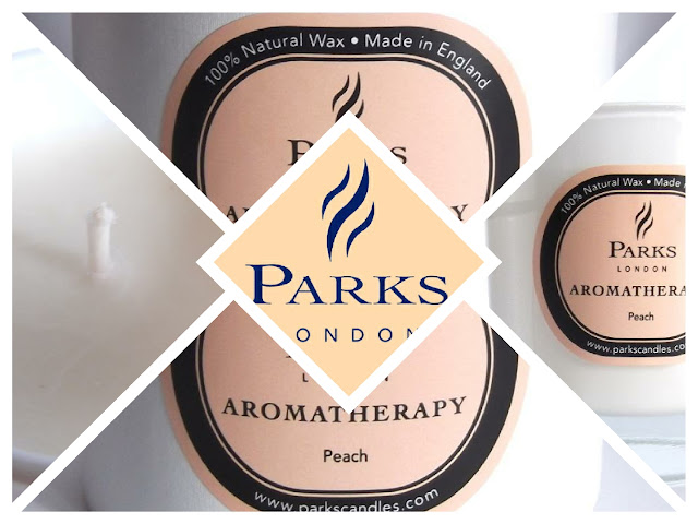 PARKS LONDON Aromatherapy Peach Candle