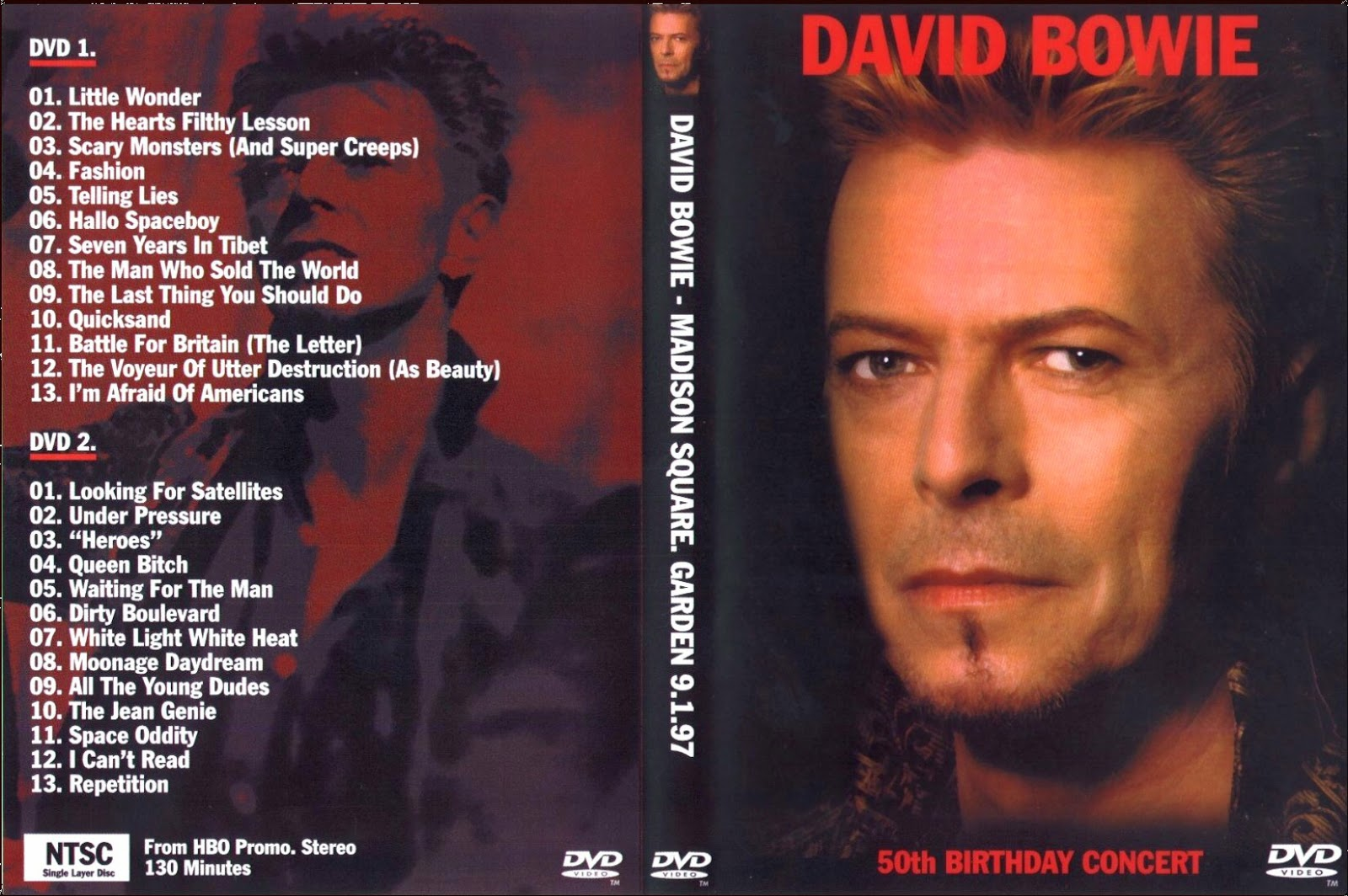 David Bowie - New York City, NY 1997 (2xDVDfull pro-shot)