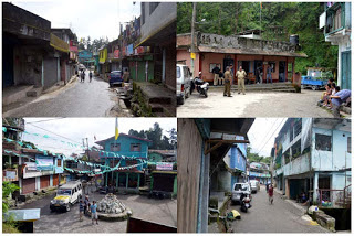 Gorkhaland strike in Mungpoo