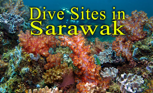 Sarawak Diving Sites