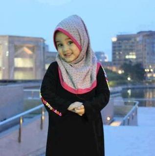 model baju muslim anak perempuan terbaru