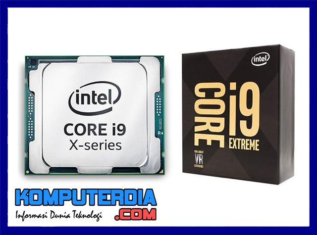 Processor Intel Core i9 Telah Diresmikan