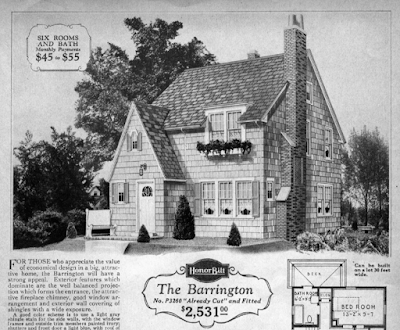 Sears Barrington 1929 catalog image dormer roof look same as 1928