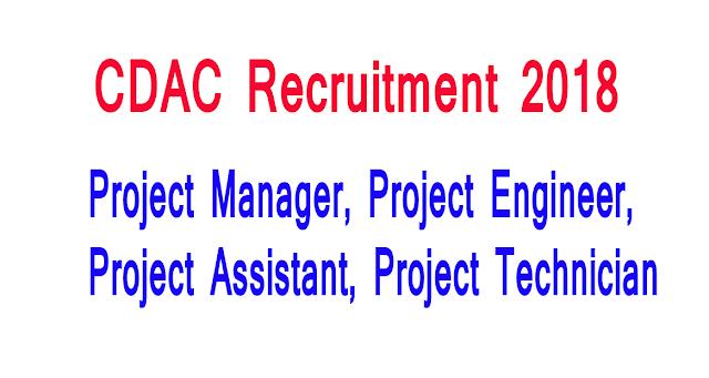 CDAC Online Form 2018
