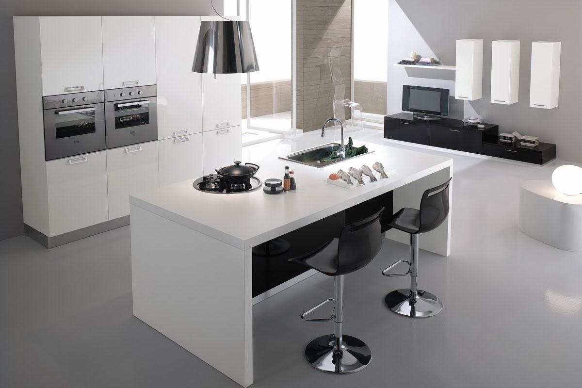 Cocinas descaradamente abiertas cocinas con estilo for Cocinas con isla y salon