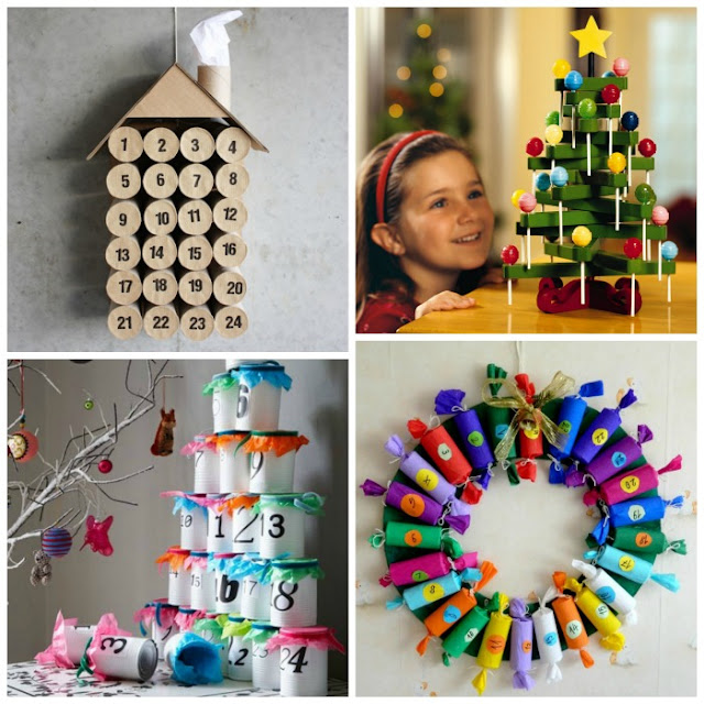 AMAZING DIY ADVENT CALENDARS FOR KIDS- these are so fun!!
