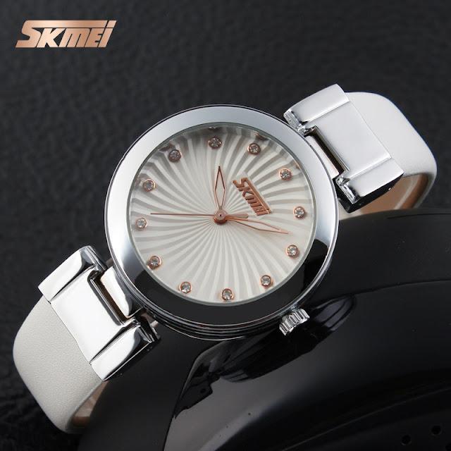 Đồng hồ nữ đẹp giá rẻ Skmei 9086 02