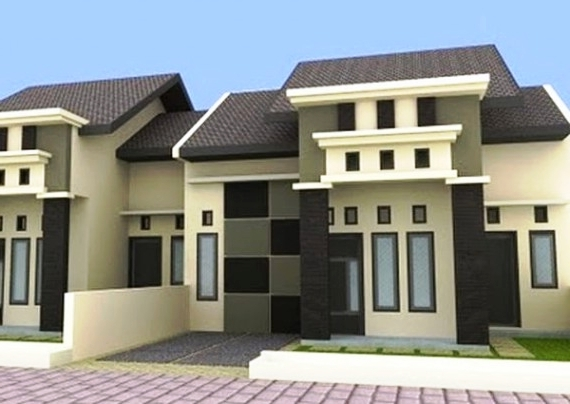 Desain Rumah Type 45 Modern 1 Lantai Minimalis