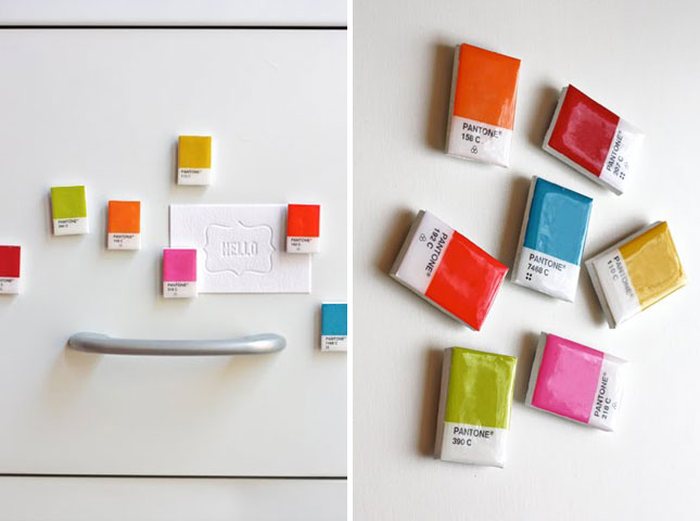 pantone Magnets - Pantone, as cores e as tendencias