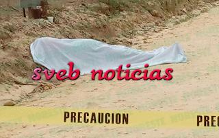 Dejan un ejecutado en Chacaltianguis Veracruz