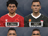 PES 2017 Liga 1 Gojek Traveloka Mini Facepack