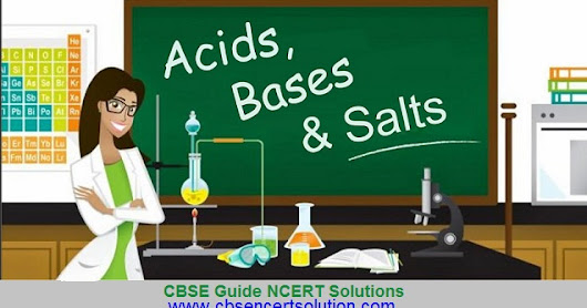 Online solved CBSE Guess questions - Class VII, Science - Acids, Bases and Salts