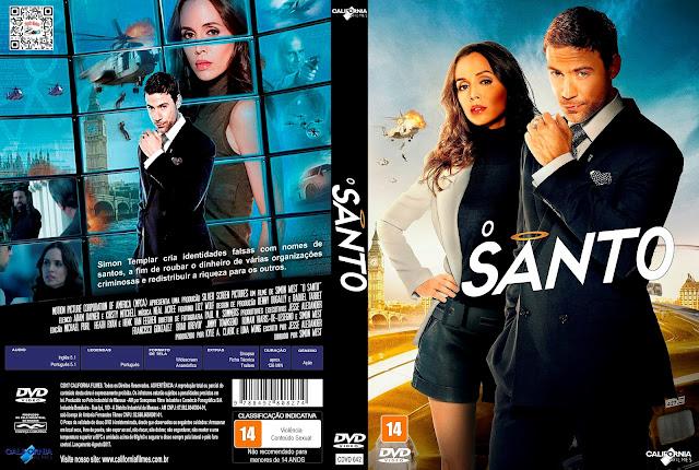 Capa DVD O Santo [Custom]