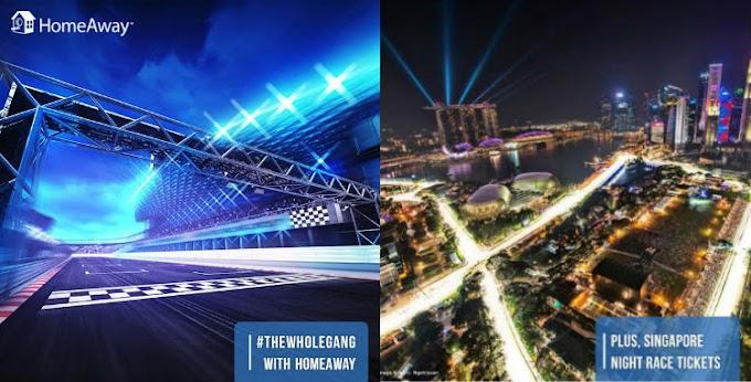【送機票住宿】新加坡F1賽車9月舉行 HomeAway 免費請你玩!