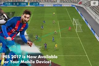 Pro Evolution Soccer: Pes 2017 Android Apk + OBB 1.1.1