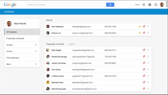 Cara Menyimpan Kontak Telepon Ke Gmail