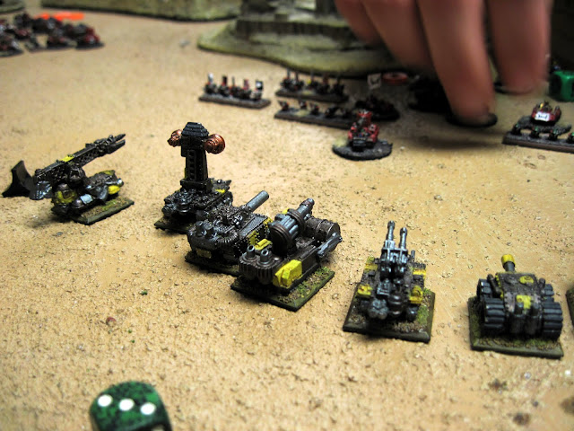 The Ork assaults peter out.