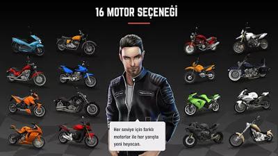تحميل لعبة سباق الدراجات المثيرة Racing Fever Moto النسخة المهكرة للاجهزة الاندرويد