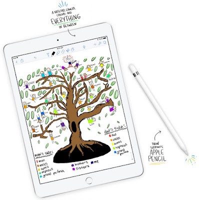 Apple 2018 9.7-inch iPad with Apple Pencil support launched