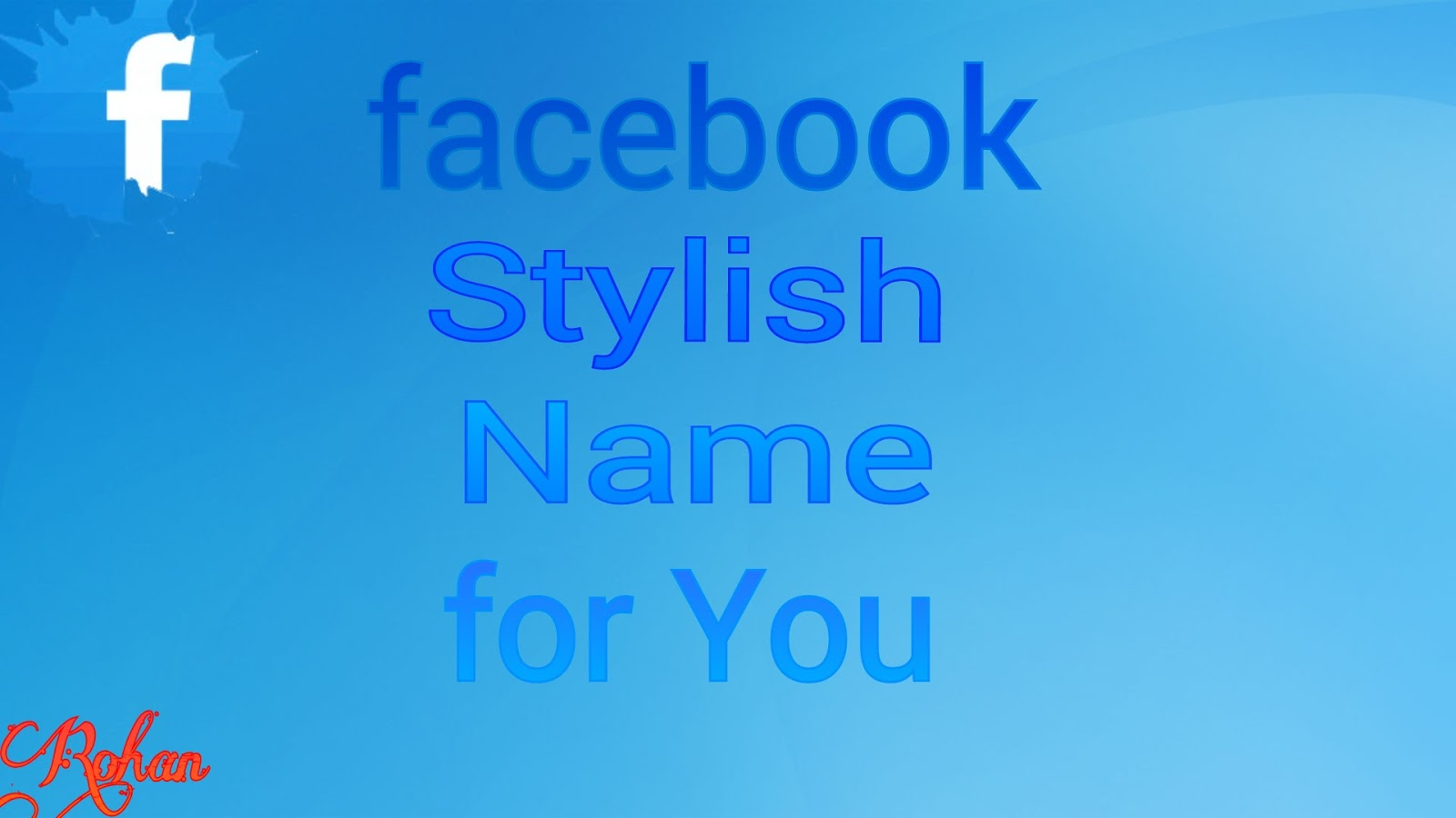 Stylish Name For Facebook Trickz With Devil