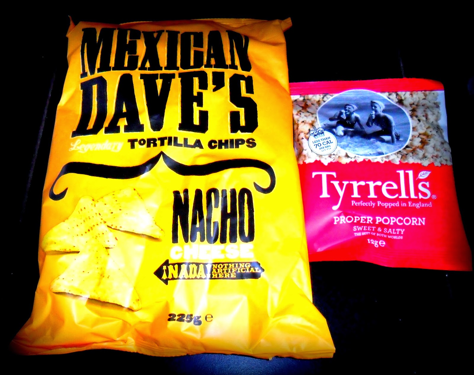 Mexican Dave's Cheesy Nacho's, Cheesy Nacho's, Nacho's, Tyrells, Popcorn, Snacks, Premium Snacks