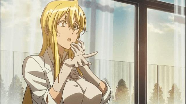 shizuka-san adalah perempuan yang ceroboh