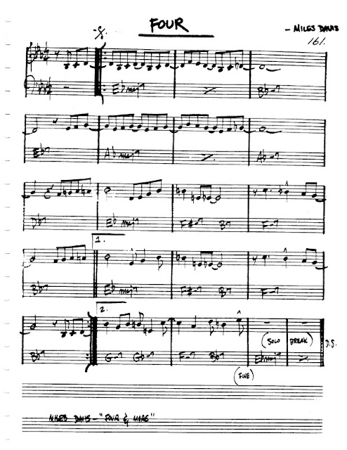 Partitura Flauta Miles Davis