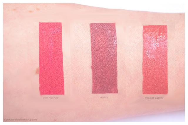 Nabla Dreamy Matte Liquid Lipstick Swatches