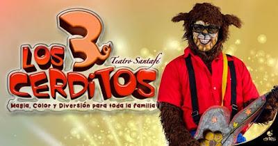 LOS 3 CERDITOS Poster 2