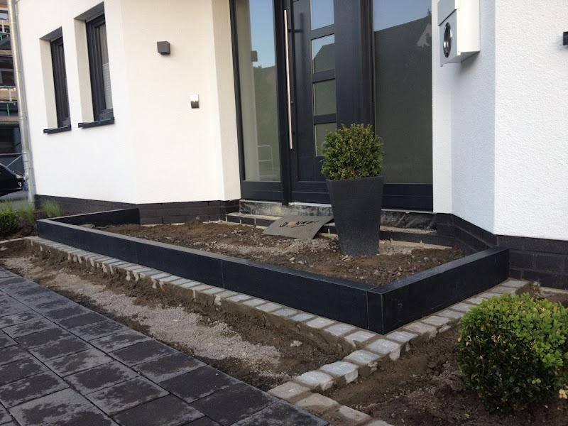 Eingangspodest beton selber bauen wohn design for Beton haus bauen