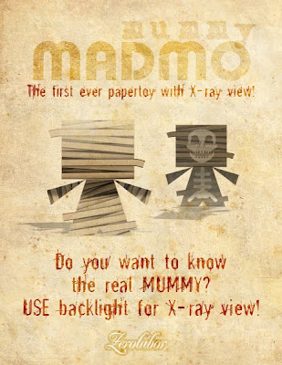 Madmo special version paper toy