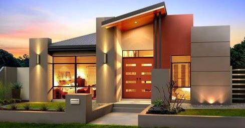 desain rumah mewah minimalis kontemporer terbaru   desain