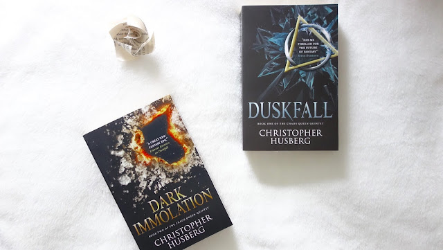 Duskfall and Dark Immolation books