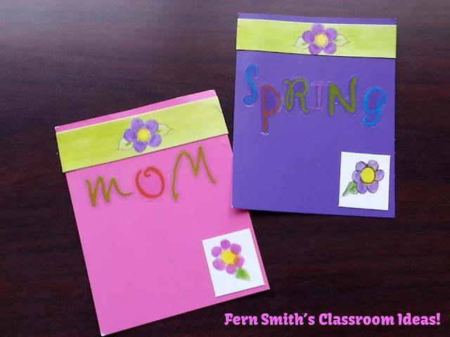 Fern Smith's Quick and Easy Mother's Day Bookmarks with Paint Sample Cards