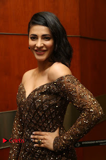 Actress Shruthi Hassan Pictures in Long Dress at Premam Movie Audio Launch  0022.JPG