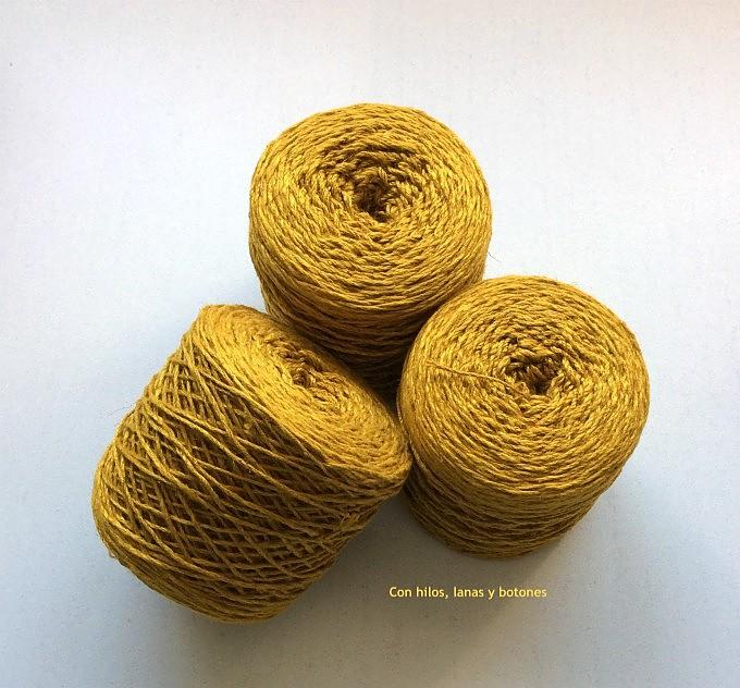 Con hilos, lanas y botones: Chaqueta aire