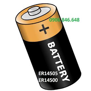 Pin ER14505 và ER14500 - Dùng cho máy tuần tra GS