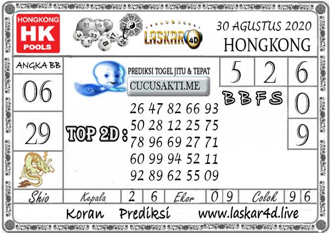 Prediksi Togel HONGKONG LASKAR4D 30 AGUSTUS 2020