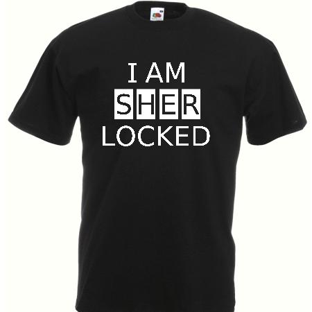 koszulka I AM SHERLOCKED