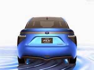 Toyota Akan Merilis Mobil Berbahan Bakar Hidrogen di tahun 2015