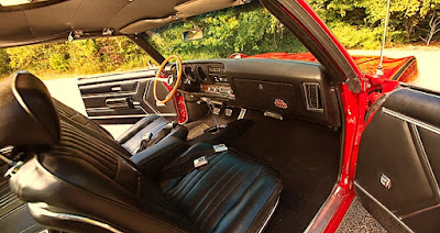 1969 Pontiac LeMans GTO The Judge Interior Dashboard