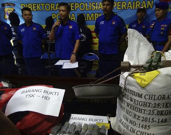 Ana Keddah... Purnawirawan TNI Ditangkap Polisi Jadi Bos Pemasok Bom Ikan