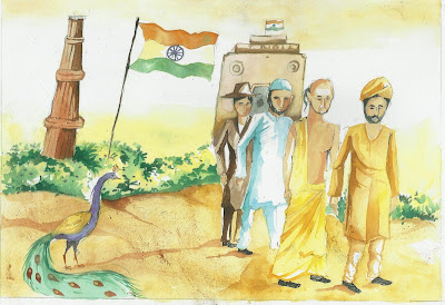 26 January Republic Day Drawings, Paintings, Sketches, Images for Kids