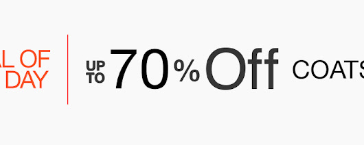 Winter Coats & Jackets Up To 70% OFF