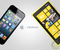 bagusan iphone 5 atau lumia 920, perbandingan fitur iphone 5 terbarud engan nokia seri lumia canggih, lebih bagus iphone 5 atau windows phone