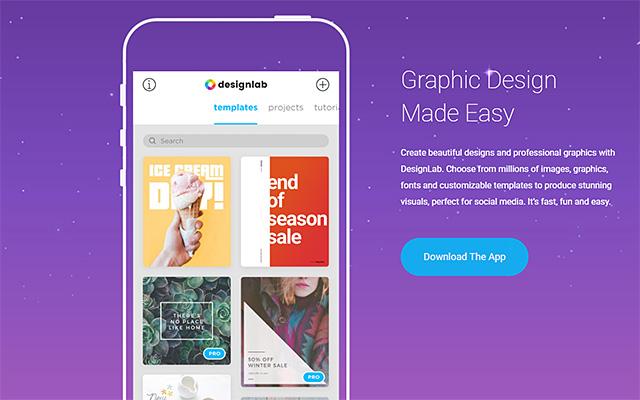 美麗又專業的圖形排版設計 - DesignLab Studio