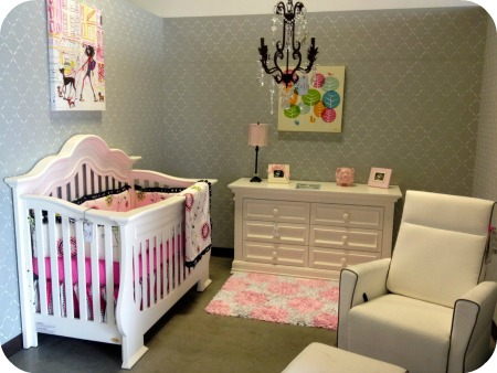 Unisex Style Cosy Baby Nursery In Parents Room Home