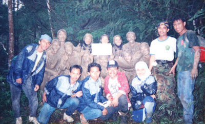 Foto ketika kami OSPEK di Fahuntan dulu, ini adalah Bina Corps Rimbawan di Gunung Walat-Sukabumi. Foto : Istimewa by Novie Nurhayati.