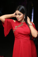 Poorna in Maroon Dress at Rakshasi movie Press meet Cute Pics ~  Exclusive 72.JPG